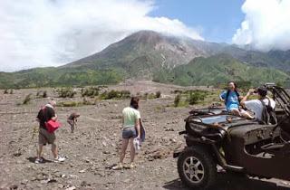Wisata Erupsi Gunung Merapi