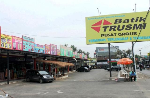 Tempat Wisata Cirebon - Kampung Batik Trusmi