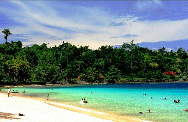 Tempat Wisata Lampung - Pantai Pasir Putih