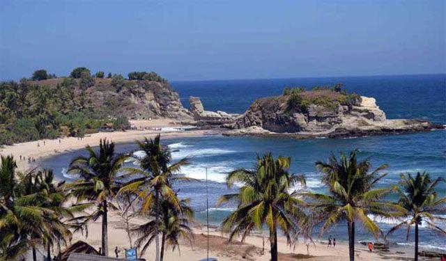 Tempat Wisata Di Pacitan - Pantai Klayar