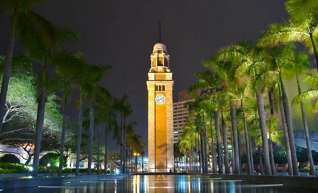 Wisata Hongkong - The Clock Tower