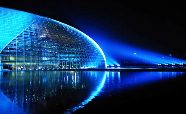 National Grand Theater Tempat Wisata di China yang Menakjubkan