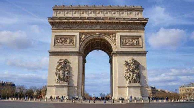Tempat Wisata di Paris - Arch de Triomphe