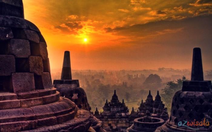 Keindahan Wisata Candi Borobudur di Jawa Tengah