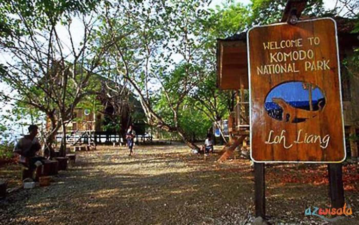 Tempat Wisata Pulau Komodo Loh Liang