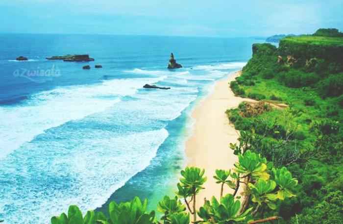 Pantai Buyutan - Tempat Wisata Pantai di Pacitan
