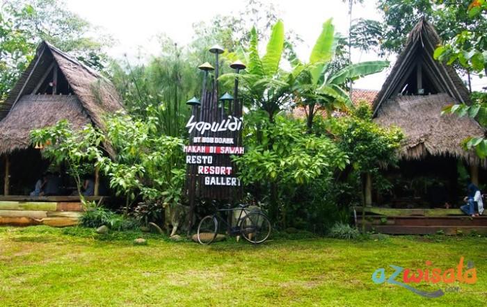 Suasana Pedesaan di Wisata Sapu Lidi Lembang